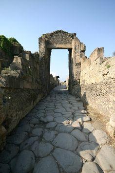 Pompeii street  #pompeii #vesuvius