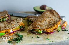 Healthy Hummus Quesadillas from http://fitmencook.com/?utm_content=buffer540f7&utm_medium=social&utm_source=pinterest.com&utm_campaign=buffer