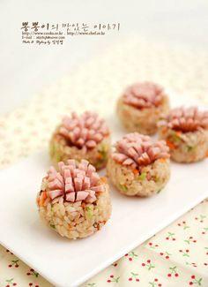 소세지꽃주먹밥