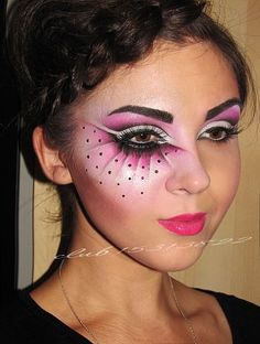 fantasy make up Face Paint Makeup, Makeup Art, Beauty Makeup, Hair Beauty, Make Up Looks, Maquillage Halloween, Halloween Makeup, Adult Face Painting, Fantasy Make Up