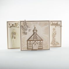 This contains the new Religious Sun Ray Scene. The range is broken up in to 3 Rococo die sets, 2 Rococo Petites, a Window Die and Verso Cross. This die set is great for a number of different occasions surrounding the holidays like Easter, Christmas etc. It would work well with our Baby Rococo Die range for Christenings. You will be getting 6 dies in this die set and because the Sun Ray Scene die set is Verso you can cut out the beautiful design or leave it in the card. Die Sizes: Outer…