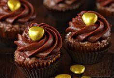 Πανεύκολα cupcakes Μερέντας με 4 μόνο υλικά