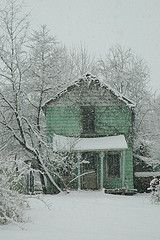 Abandoned House in Winter, Vienna, VA -- to see this house in summer: www.flickr.com/...
