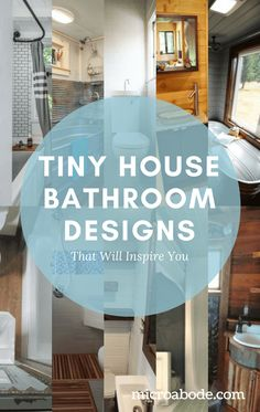 Tiny House Bathroom Designs That Will Inspire You   Tiny house bathroom design can be a challenge, but these talented builders and homeowners managed to create functional works of art.