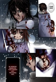 VAMPIRE KNIGHT PAGE by bloody-rose-black.deviantart.com on @DeviantArt