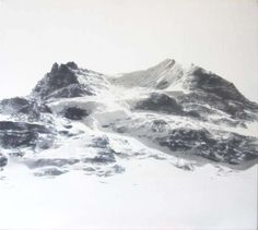 shadow mountain by Sophy Reynolds - paintings - Tasmanian artist