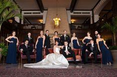 Vanity Fair inspired bridal party    (Jenna Davis Photography)