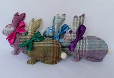 Bunny Lavender Bag Rabbit Gift Lavender Bunny Tweed Source by alysonterese cute Felted Wool Crafts, Felt Crafts, Fabric Crafts, Sewing Crafts, Lavender Bags, Lavender Sachets, Small Sewing Projects, Penny Rugs, Wool Applique