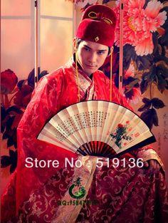 chinese klassieke stijl bruidegom kostuum mannelijk kostuum Tang pak Hanfu jurken kleding heren trouwen bruiloft kleding kleding in gelukkige paar malewaaronder: mannen set( indien nodig de mannelijke cap, voeg $30)grootte: gemiddelde grootte x hoogte van op AliExpress.com | Alibaba Groep