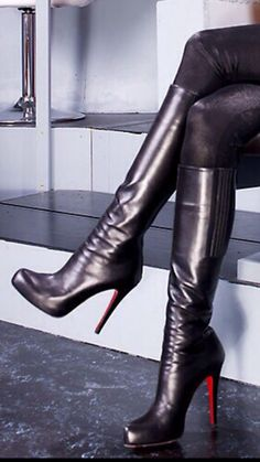 d55f5af62c8 30 Best Louboutin Boots images in 2019