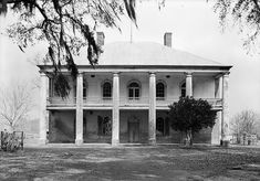 """Chretien Point Plantation, 1940. ... The pirate's spirit, now known as Robert (pronounced in the French manner, """"roh-BAIR""""), still roams the house and plays with coins left by guests. Felicite and some of her children have also been seen roaming the grounds of the plantation."""