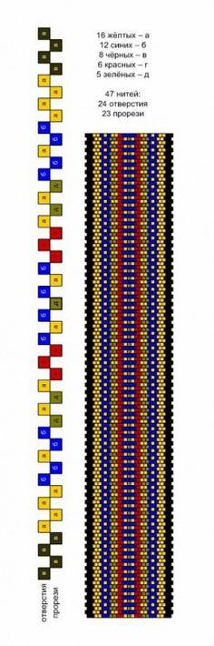 Photo - Home Inkle Weaving Patterns, Bead Loom Patterns, Loom Weaving, Beading Patterns, Card Weaving, Tablet Weaving, Finger Weaving, Tapestry Crochet Patterns, Inkle Loom