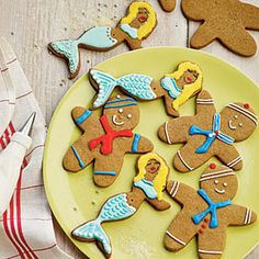 Gingerbread Sailors and Mermaids | MyRecipes.com