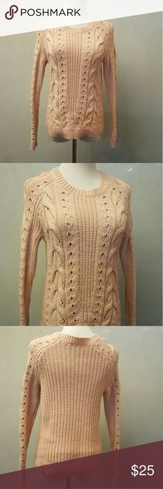 Lucky Brand knit sweater Lucky Brand knit sweater in great condition  **1-bin (storage note to self) Lucky Brand Sweaters