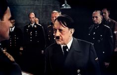 Sir Alec Guiness playing Adolf Hitler in the Last 10 Days, almost a spitting image here.
