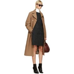 3.1 Phillip Lim Camel Wool Merrow Edge Coat