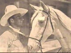 John Wayne & Duke (the horse was as famous as the actor, in the beginning of his career)