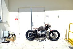 1979 BMW R100 bobber Shades  Miami Garage built by Xcramblercycles