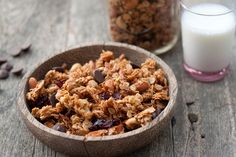 Made this coconut and chocolate chip granola last weekend and haven't stopped eating it! It's fantastic with banana yogurt.:: TK Blog Coconut Granola 01