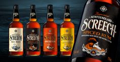 Experiance Screech Rum via @thedieline