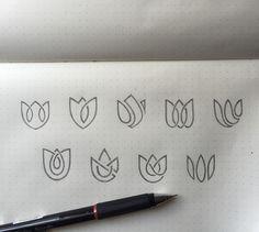 Yoga Logo Design Inspiration Lotus Flowers 39 Super Ideas – About Graphic Design Yoga Logo, Zen Logo, Logo Branding, Branding Design, Corporate Branding, Brand Identity, Lotus Logo, Gfx Design, Logo Sketches