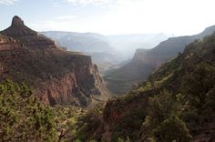 The Grand Canyon. I like the idea of a 4 day hike and being able to take our time.