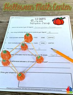 These student made Halloween decorations are perfect for the classroom. Students will have a blast building their own 3-D shapes with this hands-on activity! Check out the preview for a more detailed view and see what else is included in this set.