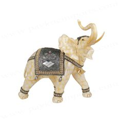 NEW Daisy Summer Elephant Trinket Box Enamel Gift Ornament Small Animal Figurine