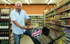 It's Guy Fieri - It can't be bad Take a Tour of Flavortown Market: Guy's Grocery Games Food Network Star, Food Network Recipes, Guy Feiri, Triple G, Candy Store, Tv Guide, Culinary Arts, Recipe Of The Day, Favorite Tv Shows