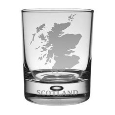 Scotland Whisky Tumbler . . Sold by TartanPlusTweed.com A family owned kilt and gift shop in the Scottish Borders