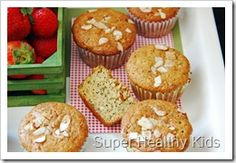 Almond poppyseed muffins sub eggs