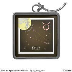 Taurus April 21 to May 20 Schlüsselanhänger April 21, Avril, May, Gemini, 21st, Frame, 21 Juni, La Luna, Taurus