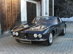 Iso Grifo, my new favorite car.