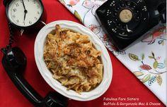 Buffalo and Gorgonzola Mac and Cheese – Cheesy and Spicy! Yum!!! | Inside Kel's Kitchen