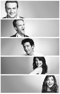 "Jason Segel ( Marshall ).. Neil Patrick Harris ( Barney ).. Josh Radnor ( Ted )..  Cobie Smulders ( Robin ).. Alyson Hannigan ( Lily ).. ""How I Met Your Mother"""