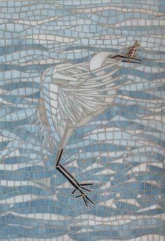 Little Egret Fishing -by Lucyc70 from Delphi Artist Gallery