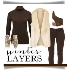 Layer Up by patricia-dimmick on Polyvore featuring M&Co, Hobbs, Suncoo, Lucky Brand and WinterLayers