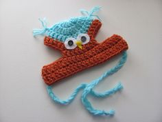 A personal favorite from my Etsy shop https://www.etsy.com/listing/244372557/owl-hat-for-dog-crochet-hat-for-pet-hat