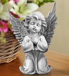 funeral flowers statue angel - Recherche Google