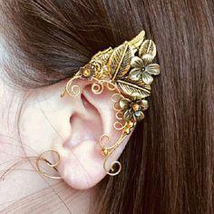 Elven ears (a pair)elven ear - ear cuff - elvish earring - elf ear
