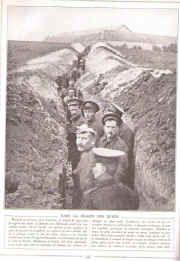 WW1, les tranchées, guerre 14/18
