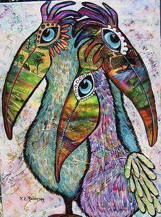 PelicanTrio tropical beach house Original Painting by KeROBinson Pelican Art, Tropical Beach Houses, Wilson Art, Louisiana Art, Creative Landscape, Watercolor Techniques, Art Portfolio, Bird Art, Art Drawings
