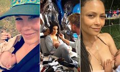 Celebrity mums who have spoken out about breastfeeding