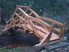 Creation and implementation of a bridge in the Creuse   http://buff.ly/2tVyone?utm_content=buffercbf2f&utm_medium=social&utm_source=pinterest.com&utm_campaign=buffer