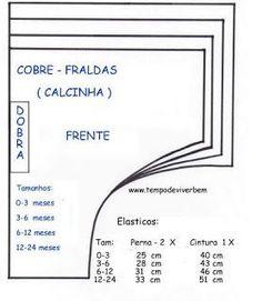 COBRE FRALDAS - CALCINHA