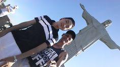 Jonas và Binho trong Chúa Kitô, Đấng Cứu Thế (Rio de Janeir