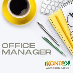 Office Manager (JB348) South Kensington, Johannesburg R10 000 – R15 000 Per Month CTC Kontak Recruitment is currently recruiting and hiring on behalf of an Attorney firm requires well-presented and spoken Office Manager to take responsibility of all office administration and consumables. Suited to a person that is looking for a long-term career in a small team. #officemanager #officesupport #officemanagerjobs #jobsjohannesburg #recruitmentagency #nowhiring #recruitingnow #jobopportunity
