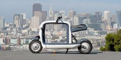 Lit Motors Kubo electric cargo scooter is one totally cool micro-hauler