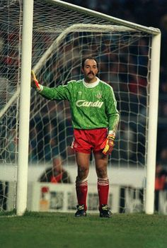 Bruce Grobbelaar of Liverpool in 1989.