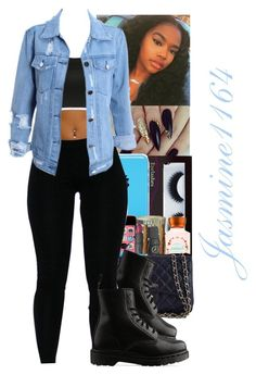 ⚫️Trendy⚫️ by jasmine1164 on Polyvore featuring polyvore fashion style Dr. Martens BBrowBar clothing